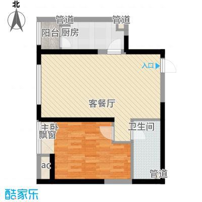 华业东方玫瑰D5-02户型10室