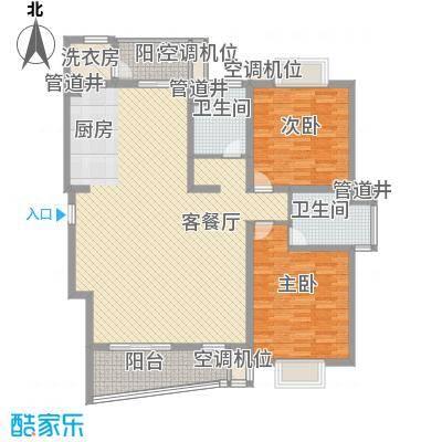 花都艺墅162.00㎡三期70#、76#01单元(一楼)户型3室2厅2卫1厨