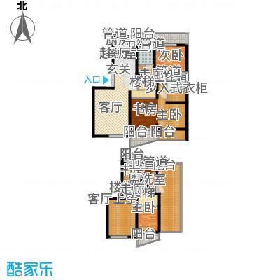 圣雅园·丽景174.15㎡(已售完)户型3室2厅2卫1厨