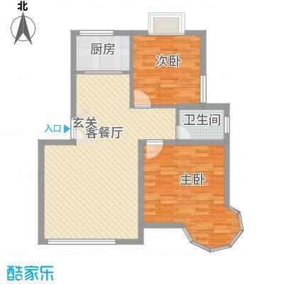 橘色生香88.92㎡橘色生香户型图B-2型户型10室