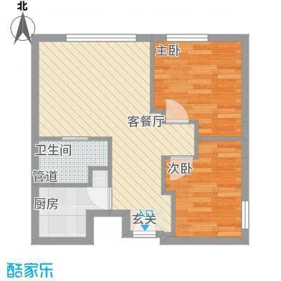 江西财经大学宿舍71.00㎡江西财经大学宿舍2室户型2室