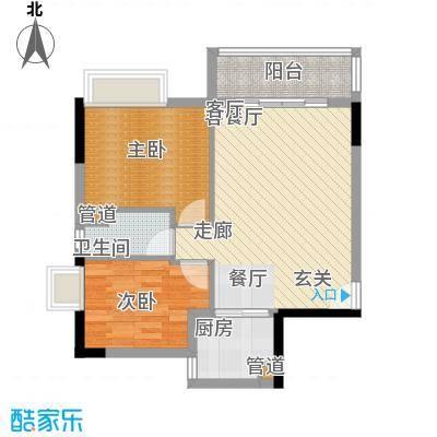 翰林苑小区翰林苑小区户型图61acf8ca0419faf98d5226162f254c4b2室2厅1卫1厨户型2室2厅1卫1厨