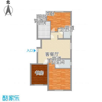 上奥世纪中心上奥6号B(售罄)户型3室2厅2卫1厨