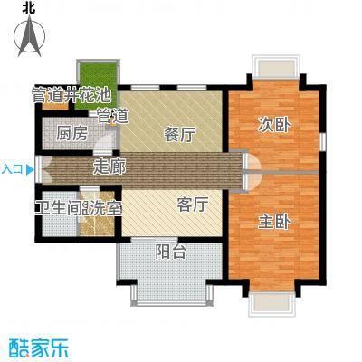 学风191178.01㎡户型2室1厅1卫1厨