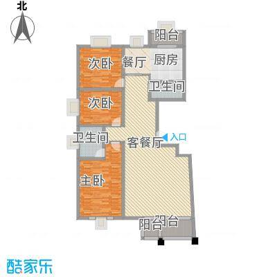 三虎桥检察院宿舍户型3室2厅2卫1厨