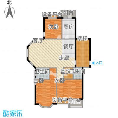 玉景公寓158.00㎡玉景公寓158.00㎡3室户型3室
