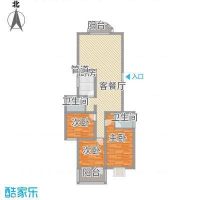 科教新村128.00㎡科教新村户型图3室2厅1卫1厨户型图3室2厅2卫1厨户型3室2厅2卫1厨