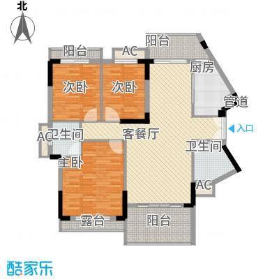 13#楼01房平面图