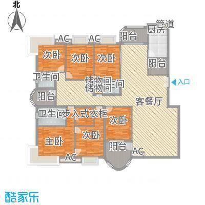 咸嘉新村嘉华苑275.23㎡5室3厅2卫1厨