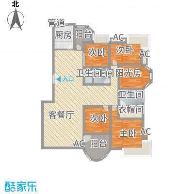 咸嘉新村嘉华苑207.93㎡5室3厅2卫1厨
