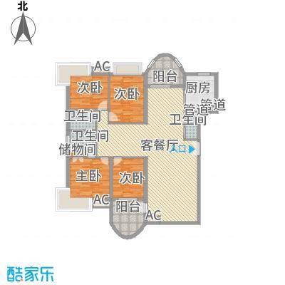 咸嘉新村嘉华苑166.24㎡4室2厅2卫1厨