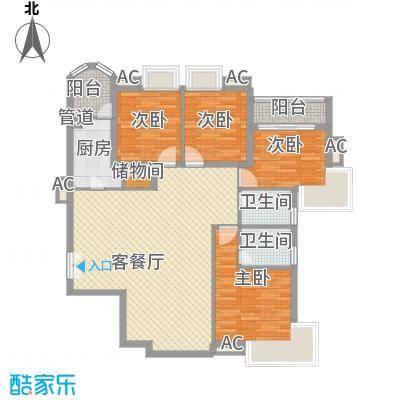 咸嘉新村嘉华苑131.19㎡4室2厅2卫1厨