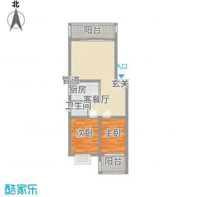 鑫天佳园89.00㎡鑫天佳园户型图2室2厅1卫1厨户型10室