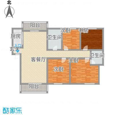 湘林小区170.00㎡湘林小区户型图4室2厅户型图4室2厅2卫1厨户型4室2厅2卫1厨