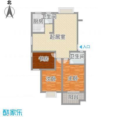 新星小区118.23㎡新星小区户型图3室1厅2卫1厨户型10室