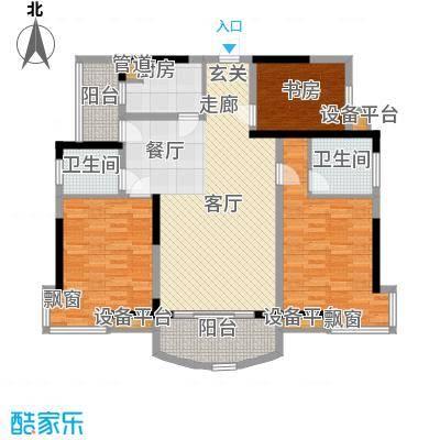 新芙蓉之都4室2厅户型4室2厅2卫1厨