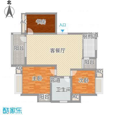 雨花区税务局单位房3室2厅1卫1厨户型3室2厅1卫1厨