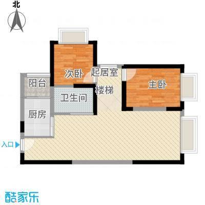 愿景・童话里3室2厅户型3室2厅2卫1厨