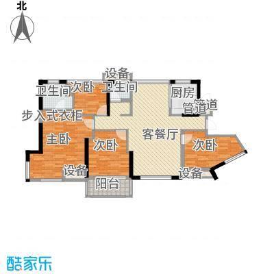 维一星城・原山苑78.00㎡3#4#D1户型3室2厅1卫1厨