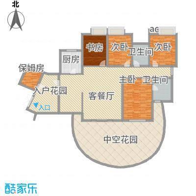 湘江豪庭湘江豪庭04户型奇数层户型10室