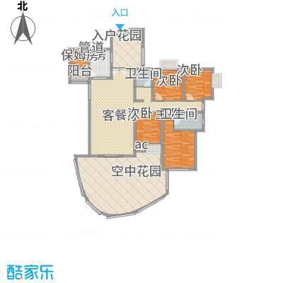 湘江豪庭湘江豪庭03户型奇数层户型10室