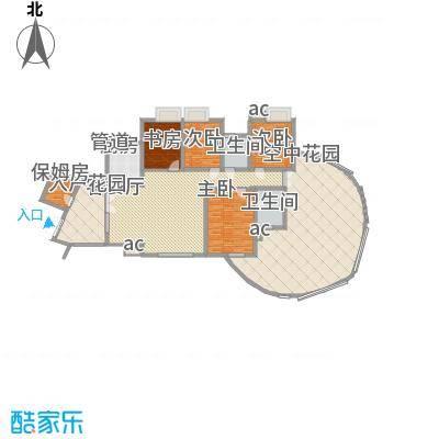 湘江豪庭湘江豪庭04户型偶数层户型10室