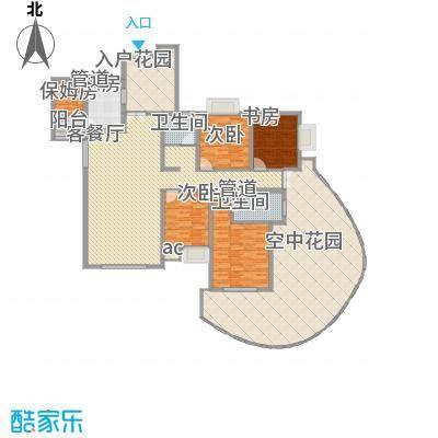 湘江豪庭湘江豪庭03户型偶数层户型10室