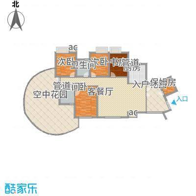 湘江豪庭湘江豪庭01户型奇数层户型10室