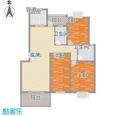 三江养生美墅户型图3室2厅2卫1厨 户型图 3室2厅2卫1厨