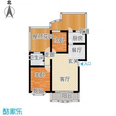 锦泰家园86.00㎡锦泰家园86.00㎡2室2厅1卫1厨户型2室2厅1卫1厨