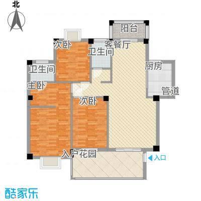 凤凰商贸城2室2厅1卫1厨户型2室2厅1卫1厨