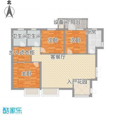 湘峰广场118.54㎡湘峰广场户型图A1户型3室2厅户型3室2厅