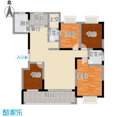 科腾商贸城科腾商贸城户型图4室2厅户型图4室2厅2卫1厨户型4室2厅2卫1厨