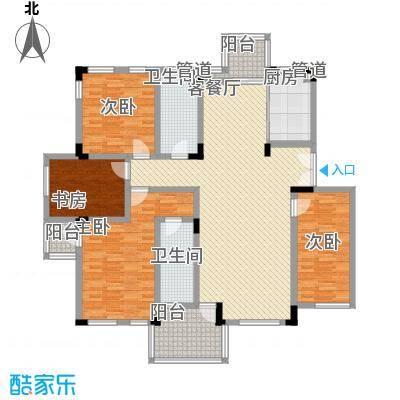 万科西街庭院159.81㎡万科西街庭院159.81㎡10室户型10室