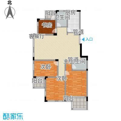 万科西街庭院146.87㎡万科西街庭院146.87㎡10室户型10室