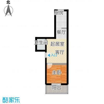 佳和苑42.00㎡佳和苑42.00㎡1室1厅1卫1厨户型1室1厅1卫1厨