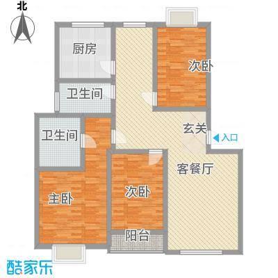 新世纪安居苑新世纪安居苑3室2厅户型3室2厅