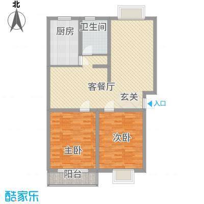 新世纪安居苑新世纪安居苑2室2厅户型2室2厅