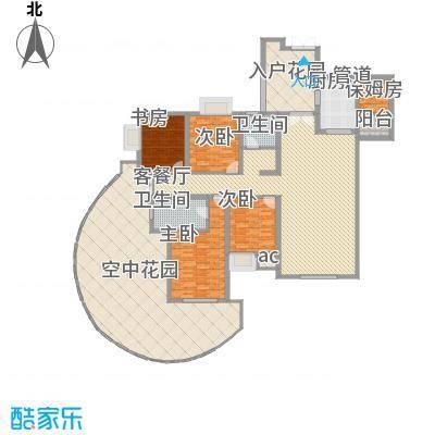 湘江豪庭湘江豪庭02户型奇数层户型10室