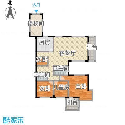 假日湾148.51㎡假日湾户型图C-1户型3室2厅2卫1厨户型3室2厅2卫1厨