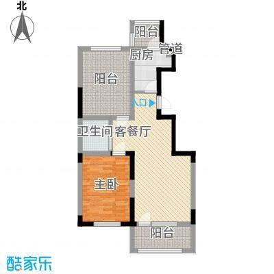 澳海㎡方1㎡82.00㎡澳海㎡方1㎡户型图21#、24#A2户型图2室2厅1卫户型2室2厅1卫