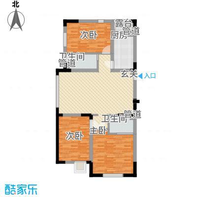 富腾天下城126.00㎡富腾天下城户型图D户型图3室2厅2卫户型3室2厅2卫
