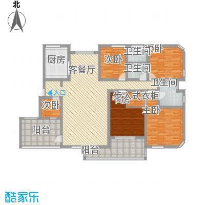 八一路省公安厅单位房4室2厅户型4室2厅2卫1厨