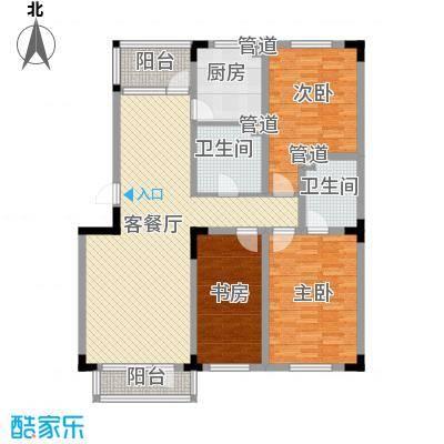 保利林语130.00㎡保利林语户型图洋房户型图3室2厅2卫户型3室2厅2卫