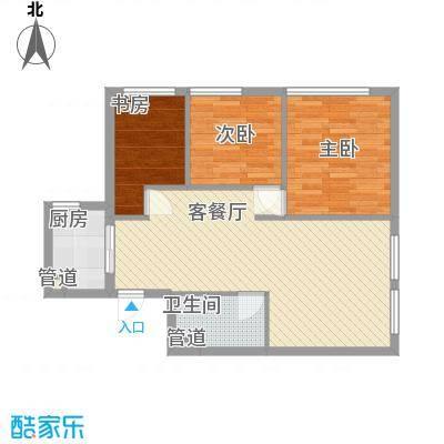 蜂巢蜂巢户型图1273483873023_0002室1厅1卫1厨户型2室1厅1卫1厨