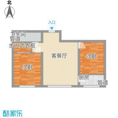 长春明珠长春明珠户型图2室2厅12室2厅1卫1厨户型2室2厅1卫1厨