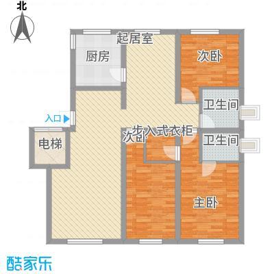 水宜家苑157.05㎡水宜家苑户型图3室2厅2卫户型10室