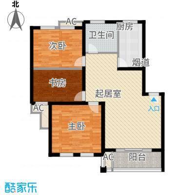 万龙花园132.00㎡万龙花园3室户型3室