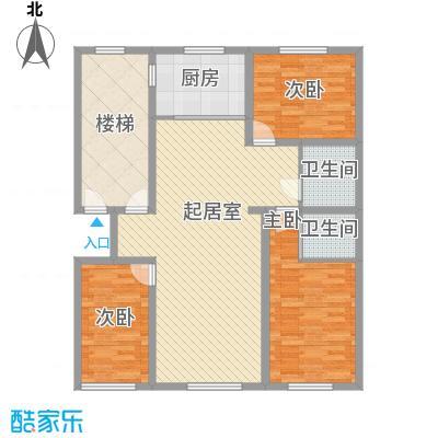 水宜家苑129.36㎡水宜家苑户型图3室2厅2卫户型10室