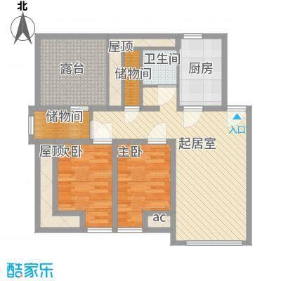 长春豪园101.20㎡长春豪园户型图2室1厅1卫1厨户型10室
